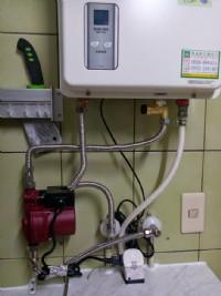 熱水器專用-直壓式-無聲加壓馬達-增大水壓