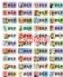 全台灣-【客製化  姓名貼紙】510冰雪奇緣、2.2*0.9公分、每份240張、特價:120元_圖
