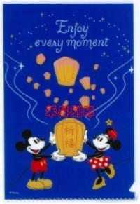 米奇旅遊假期、迪士尼、(413)防水彩色授權姓名貼紙~3*1.3cm貼紙、每份144張120元~送小資料夾_圖片(1)