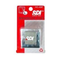 【SDI 手牌 磁夾】 方形強力磁夾 大45*50mm ~[NO.4287]特價每個:62元_圖片(1)