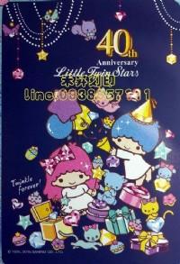 【客製化 貼紙】(501)雙星仙子、姓名貼紙 Hello Kitty、Melody、布丁狗 ◎另有姓名印章、每份150元_圖片(2)