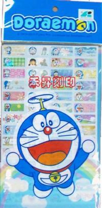 (123)哆啦A夢、全面回饋『任選2份、享免運費』每份300張(2.2*0.9公分)只售100元_圖片(2)