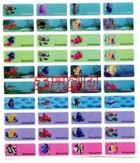 (124)海底總動員、全面回饋『任選2份、享免運費』每份300張(2.2*0.9公分)只售100元_圖片(1)