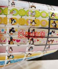 (135)企鵝家族、全面8折回饋『數量有限、售完為止』每份300張(2.2*0.9公分)只售120元_圖片(1)