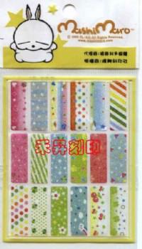 (139)賤兔、全面回饋『任選2份、享免運費』每份300張(2.2*0.9公分)只售100元_圖片(2)
