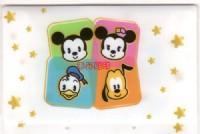 (152)迪士尼米奇家族J版 正版授權、防水耐撕、姓名貼紙 米奇.米妮,每份:152張、特價:120元、另有會計印章_圖片(2)