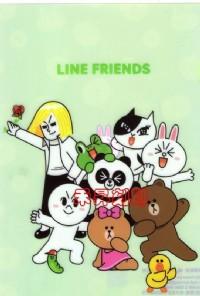 2017最新版 LINE FRIENDS 粉彩款(160)每份252張/100元/附贈收納夾、另售饅頭家族、任選2份免運_圖片(3)