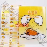 蛋黃哥 三麗鷗(504)、每份165張(3.0*1.3公分)特惠150元、另售拉拉熊、喜羊羊、奶油獅、冰雪奇緣、小車車_圖片(2)