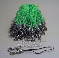 紗袋店,手機吊繩(果綠色)@1包100條@1條0.8元_圖片(1)