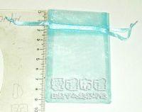 紗袋店,水藍色雪紗袋6x9cm @1包20個@1個1.3元_圖片(1)