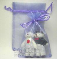 婚禮小物,淡紫色雪紗袋10x15cm @1包20個@1個2.2元_圖片(1)