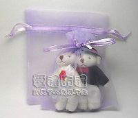 婚禮小物,淡紫雪紗袋10x12cm @1包20個@1個1.9元_圖片(1)