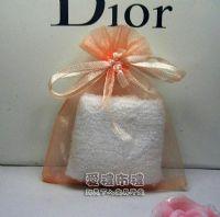 紗袋店,粉橘色雪紗袋8x10cm @1包20個@1個1.7元_圖片(1)