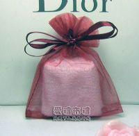 婚禮小物,酒紅色雪紗袋8x10cm @1包20個@1個1.7元_圖片(1)