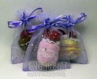 紗袋店,淡紫色鑽點紗袋7x9cm @1包20個@1個1.8元_圖片(1)