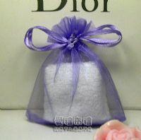 婚禮小物,淡紫色雪紗袋8x10cm @1包20個@1個1.7元_圖片(1)