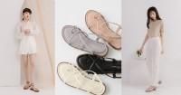 線上購物推薦5款涼鞋,方頭中跟會繼續紅下去,秒殺倒數奶茶色最欠買_圖片(1)