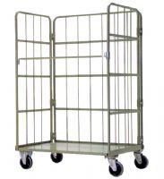 生產業搬運利器-L型物流台車,理貨台車,置物架,鐵架,物流板車,整理櫃-力大機械企業社_圖片(1)