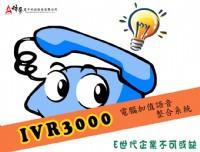 IVR3000電腦加值語音整合系統 (自動總機、語音系統、語音信箱、電腦語音系統)_圖片(1)