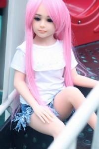 TPE100cm平胸娃娃(平靜)_圖片(1)
