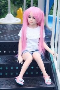 TPE100cm平胸娃娃(平靜)_圖片(2)