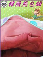 ☃韓國熊包舖☃【WingHouse】藍色時尚波圓點手提單側肩背包_圖片(4)