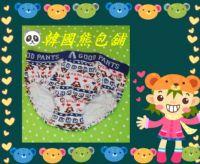 ☃韓國熊包舖☃【GOOD PANTS】韓版男童小熊三角內褲兒童全棉純棉三件特價$350元(單件:$129元)_圖片(3)
