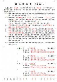 嚴選結、離婚證人500元~皆主動出示身份證與良民證_圖片(1)