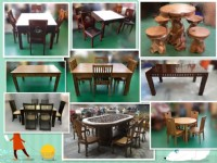 台北二手家具買賣 泰山宏品中古傢俱 2手桌椅 中古餐桌_圖片(1)