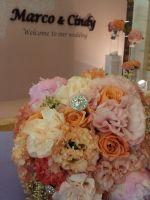 婚禮整合套裝方案(婚佈+新秘+平面攝影) 促銷價:39999_圖片(2)