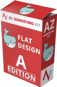 AZ 平面化設計行銷圖庫 – 以平面化設計風格的行銷素材讓你的轉化率直飆 105% 以上!_圖片(1)