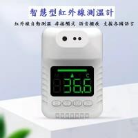 智慧型紅外線自動測溫儀 防疫抗菌 非接觸式測溫儀 掛壁式測溫儀 測溫儀 自動感應測溫儀 _圖片(1)
