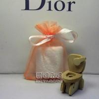 【愛禮布禮】 婚禮小物: 粉橘色雪紗袋7x9cm~1個1.5元,10個15元,訂購單位1為10個_圖片(1)