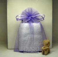 【愛禮布禮】婚禮小物:淡紫色雪紗袋12x17cm,1個2.6元,10個26元_圖片(1)