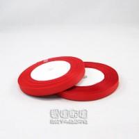 【愛禮布禮】婚禮小物:紅色,3分素面羅紋帶,1捲25碼_圖片(1)