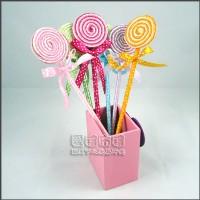 【愛禮布禮】婚禮小物:棒棒糖圓珠筆/76元.售價為一打12支的價格_圖片(1)