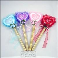 【愛禮布禮】婚禮小物:愛心小花簽到筆/31元.售價為一枝價格_圖片(1)