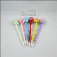 【愛禮布禮】婚禮小物:球型棒棒糖圓珠筆/76元.售價為一打12支的價格_圖片(1)