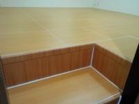 架高收納木地板九宮小坪數收納設計鋁合金鋼構 專利匡床家製造裝潢_圖片(1)