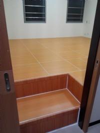 裝潢收納合室 和室地板收納 臥室地板架高 架高木地板床 房間通舖設計 魔術地板 【 匡床家】_圖片(2)