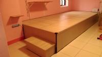 【匡床家】< 掀床式架高地板 和室高架收納床 房間通舖設計 魔術架高木地板 收納高架地板 _圖片(1)