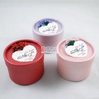【愛禮布禮】婚禮小物:薰衣草圓筒喜糖盒, 歐式喜糖盒(三色混出)8元_圖片(1)