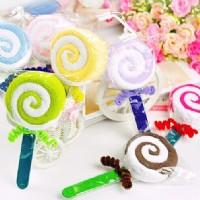 【愛禮布禮】婚禮小物:棒棒糖毛巾禮盒/18元(隨機出貨不挑色)_圖片(1)