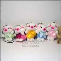 【愛禮布禮】婚禮小物:4.5公分領巾豬/11元_圖片(1)