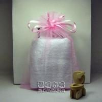 【愛禮布禮】婚禮小物:粉紅色雪紗袋12x17cm,1個2.6元,10個26元_圖片(1)