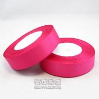 【愛禮布禮】婚禮小物:桃紅色,8分素面羅紋帶,1捲25碼/50元_圖片(1)