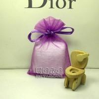 【愛禮布禮】婚禮小物:紫紅色雪紗袋10x12cm,1個1.9元,10個19元_圖片(1)