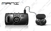 睿智杰推出MANI前後雙鏡頭1080P行車記錄器  任何車款大小通用_圖片(1)