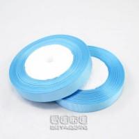 【愛禮布禮】婚禮小物:湖水藍色,5分素面羅紋帶,1捲25碼/32元_圖片(1)