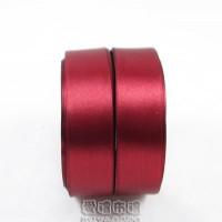 【愛禮布禮】婚禮小物:酒紅色,3分素面單面緞帶/11元,1捲25碼_圖片(1)